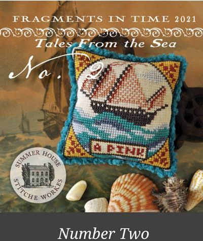 Summer House Stitche Tales from the Sea N°2