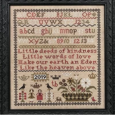 The Scarlet House Little Deeds sampler