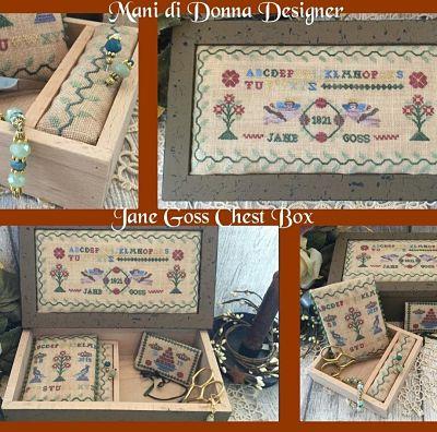 Mani di Donna Jane Goss Chest Box MDD-JGCB