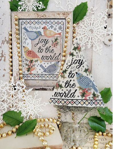 Hello from Liz Mathews The Fourth Day of Christmas Sampler and Tree
