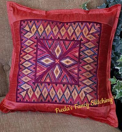 Freda's Fancy Stitching Moroccan sunset