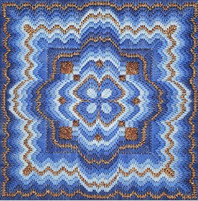 Freda's Fancy Stitching Moroccan mandela