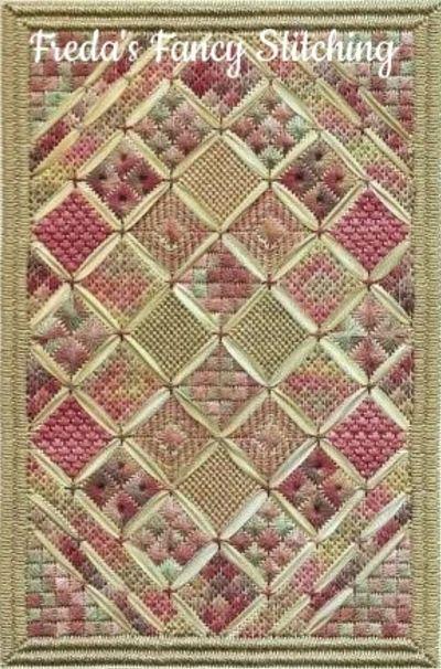 Freda's Fancy Stitching My grandma's quilt