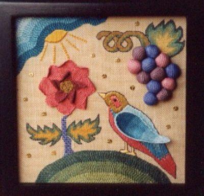 Nostalgic Needle Stumpwork Whimsy Box