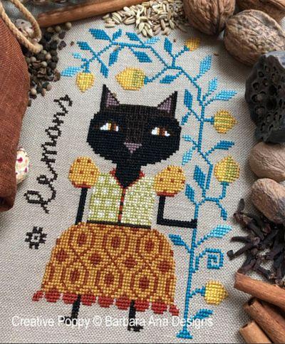 Barbara Ana Designs Lemon Cat