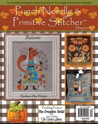 Punchneedle and Primitive Fall 2021 Issue