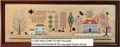Rosewood Manor Welcome to our village- PREORDER
