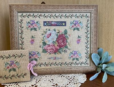 From the Heart Needleart by Wendy Rose Garden