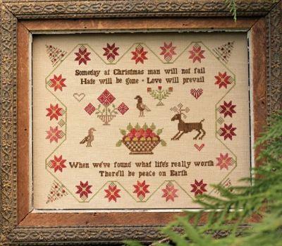 Heartstring Samplery Someday At Christmas