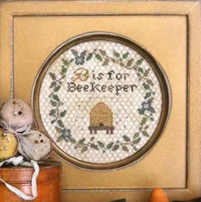 Heartstring Samplery B Is For Beekeeper