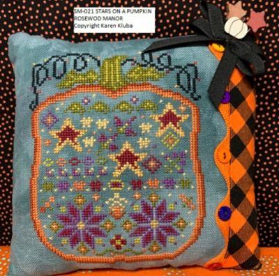 Rosewood Manor Stars on a pumpkin