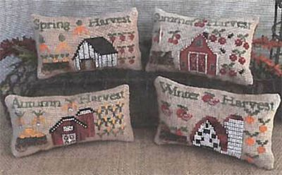 Seasonal Harvest Pillows MDD-SHP by Mani di Donna