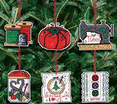 Sewing ornaments by Jnlynn