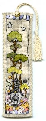 Michael Powell Art Small White Church - Bookmark - MPCP122