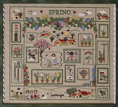Spring Sampler by Sara Guermani