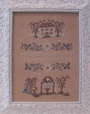 Spring in my Garden Sampler MDD-SIMG by Mani di Donna