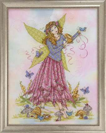 Spring fairy by Joan Elliott