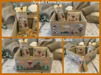 Summer Time Basket MDD-STB by Mani di Donna