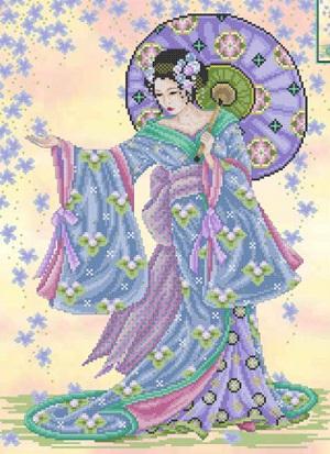 Summer geisha by Joan Elliott