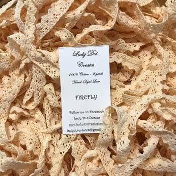 Firefly Lace (2 yards) by Lady Dot Creates
