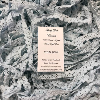 Hair Bow Lace (2 yards) by Lady Dot Creates