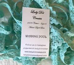 Wading Pool Lace (2 yards) by Lady Dot Creates