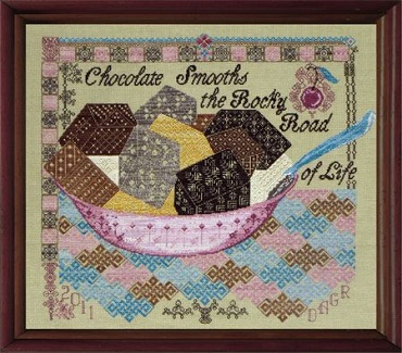 Quaker Rocky Road by Tempting Tangles
