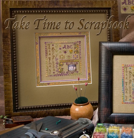 Take Time To Scrapbook by Jeannette Douglas Designs