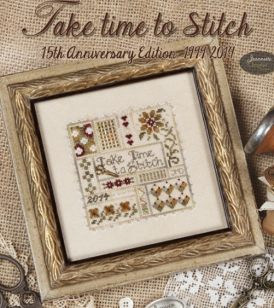 Take Time To Stitch by Jeannette Douglas Designs