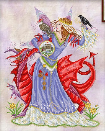 The Maiden and Dragon by Joan Elliott