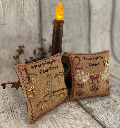 Mani di Donna Twelve Days Of Christmas 1 (Partridge & Doves)