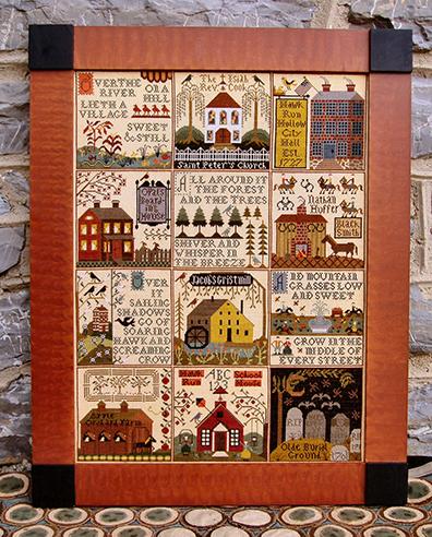 Village of Hawk Run Hollow by Carriage House Samplings
