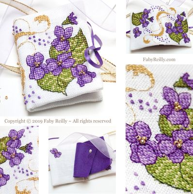 Faby Reilly Designs Violet Needlebook