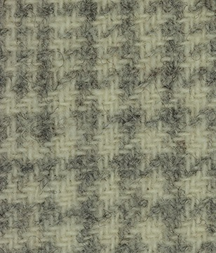 WDW Wool Fabric, Glen Plaid #1096 Snow Cream