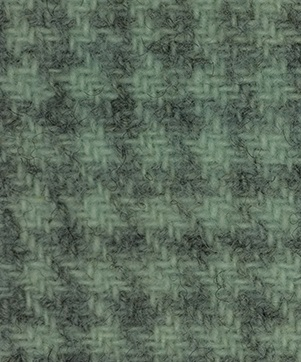 WDW Wool Fabric, Glen Plaid #1166 Sea Foam