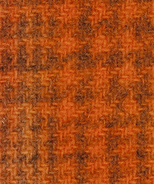 WDW Wool Fabric, Glen Plaid #2228 Pumpkin