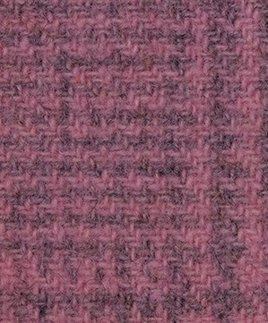 WDW Wool Fabric, Glen Plaid #2271 Peony