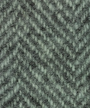 WDW Wool Fabric, Herring Bone #1166 Sea Foam