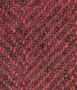 WDW Wool Fabric, Herring Bone #1333 Lancaster Red