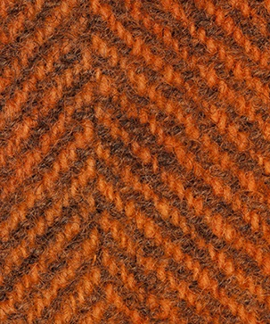 WDW Wool Fabric, Herring Bone #2228 Pumpkin