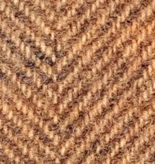 WDW Wool Fabric, Herring Bone #2233a Butternut