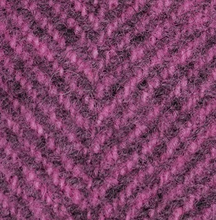 WDW Wool Fabric, Herring Bone #2275a Bubble Gum