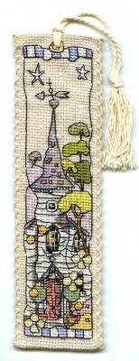Michael Powell Art White Church - Bookmark - MPCP123