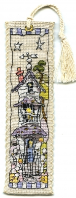 Michael Powell Art White House - Bookmark - MPCP124
