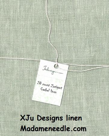 xJudesign Willow green,28ct,18x27