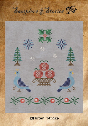 Winter birds by Samplers & Stories