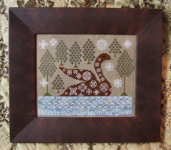 Kathy Barrick Winter Swan