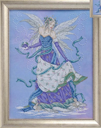 Winter fairy by Joan Elliott