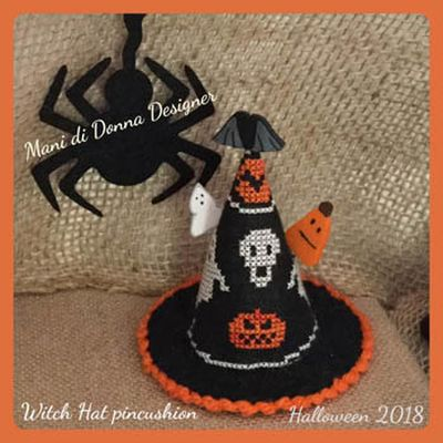 Witch Hat Pincushion MDD-WHP by Mani di Donna