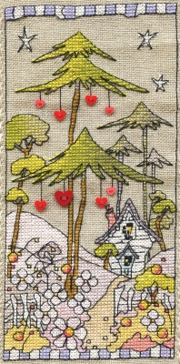 Michael Powell Art Woodland Hearts - MPCP116
